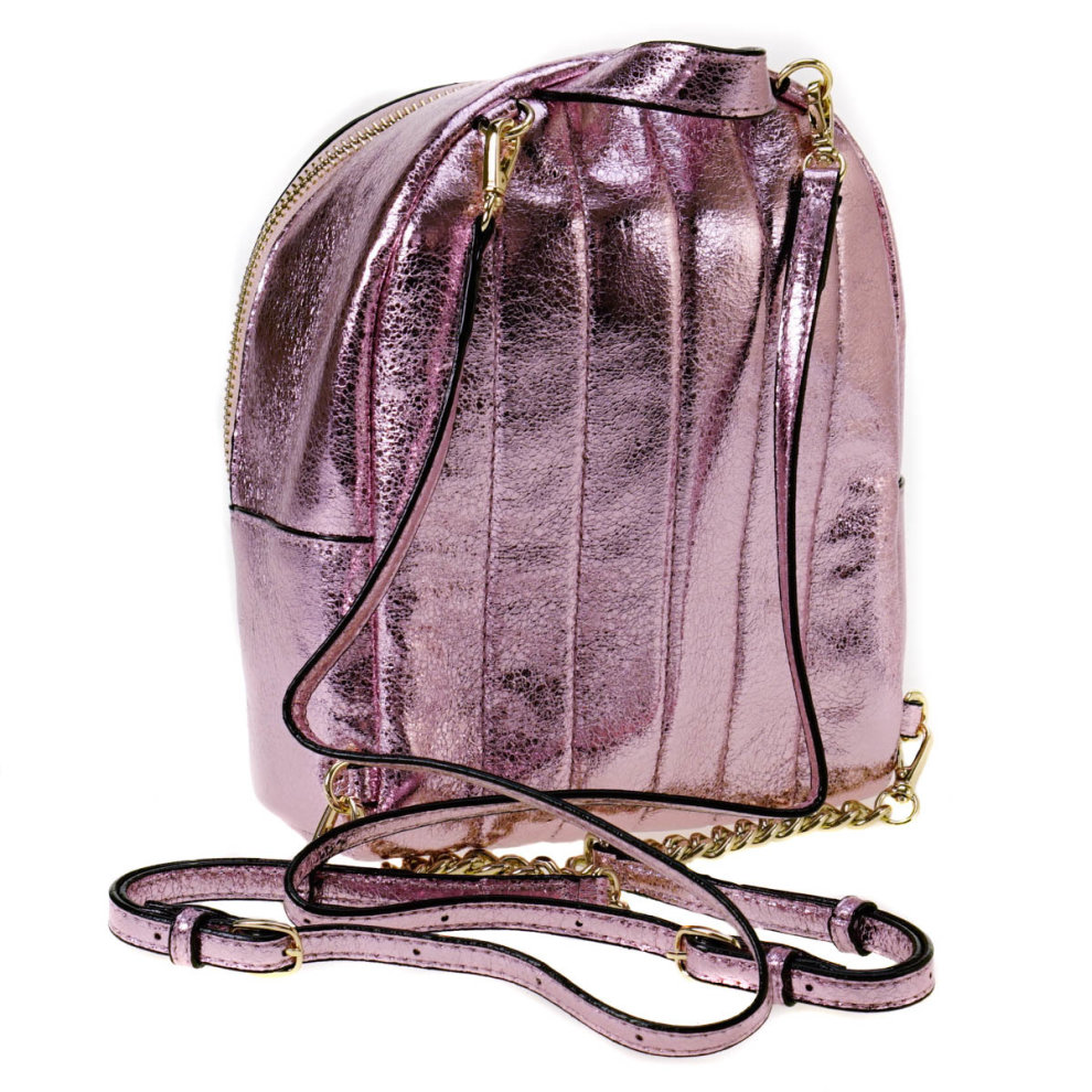 d41f8d05aa6 Victoria s Secret Pink Metallic Crackle Mini City Backpack on OnBuy