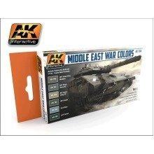 Ak00564 - Ak Interactive Set Middle East War Colors Vol 1