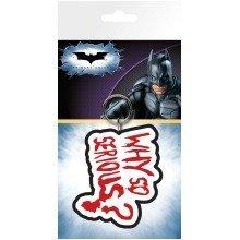 Batman (the Dark Knight) Joker Why So Serious Keyring