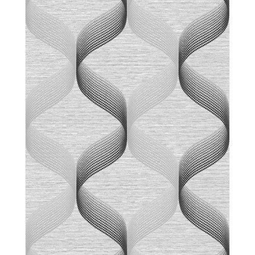 EDEM 1034-10 Retro wallpaper glittering silver grey 5.33 sqm