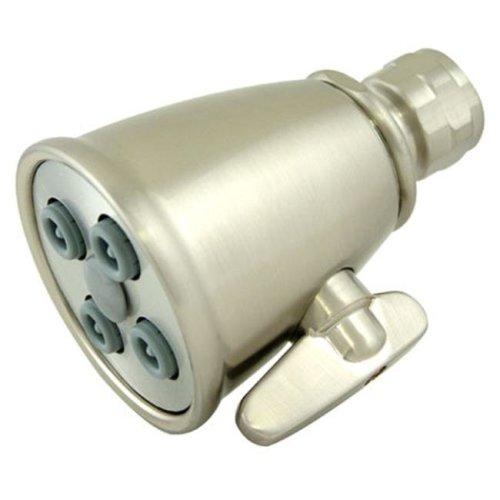 Kingston Brass K137A8 4 Spray Nozzles Power Jet Shower Head - Satin Nickel