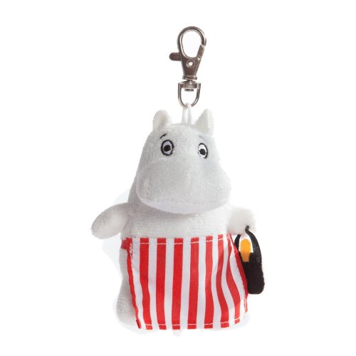 "4"" Moomin Moominmamma Key Clip - Aurora Plush Toy Cuddly Key Soft Brand New 4 -  aurora moomin plush toy moominmamma cuddly keyclip soft brand new 4"