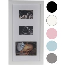 Ultrasound Scan Photos Picture Frame Pregnancy Baby Shower Present Gift Keepsake