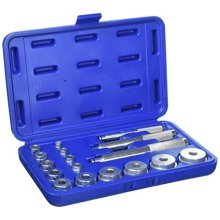 Blue Spot Tools 07901 Bearing Race And Seal Driver Kit, Silver, Set Of 17 -  bearing race seal driver set 07901 17pc bearings bluespot tools silver