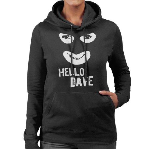 Hello Dave Papa Lazarou League Of Gentlemen Women's Hooded Sweatshirt