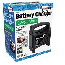 Streetwize SWCBC4 12v 4 Amp Compact Battery Charger Charge Rate 2.8ADC