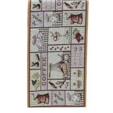 13x70.8 Inch Creative Home Dining Table Runner Table Decor, Teapots And Teacups