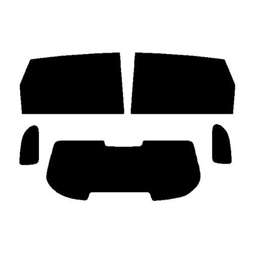 Pre cut window tint - Hyundai Tucson - 2004 to 2009 - Rear windows