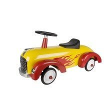 Yellow and Red Speedster - Ride On