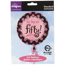 Another Year of Fabulous 50 Foil Balloon - Standard - S40
