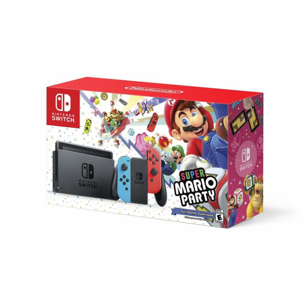 Nintendo Switch Super Mario Party Bundle on OnBuy
