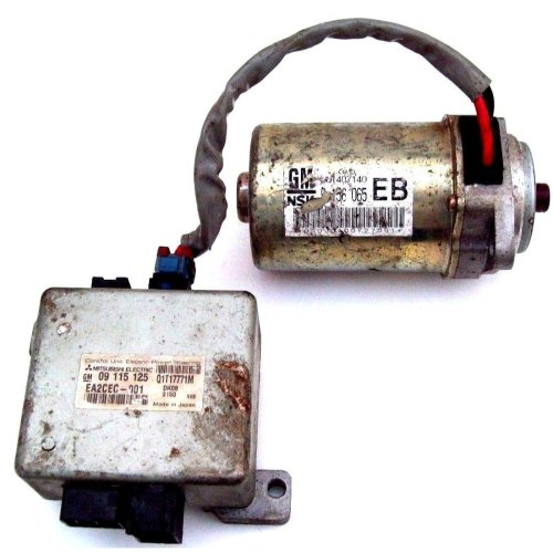 Vauxhall Opel Corsa EPS Electric Power Steering Column ECU + Motor Q1T17771M