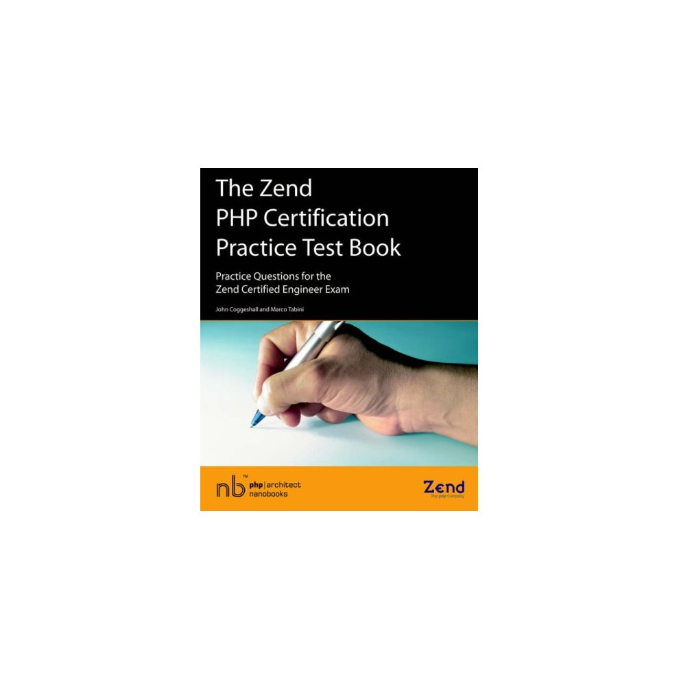 Used The Zend Php Certification Practice Test Book Practice