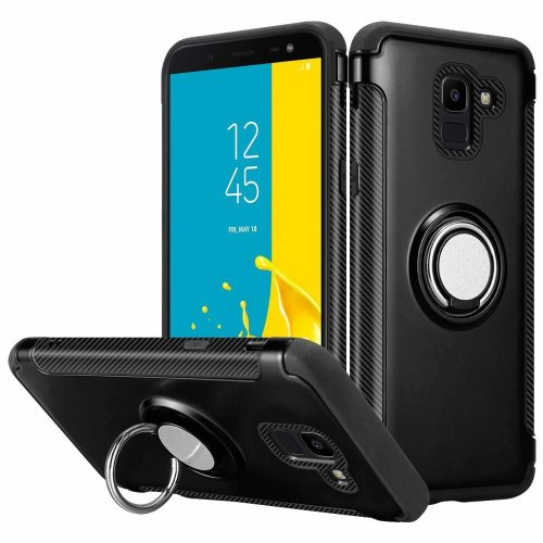 For Galaxy J6 TPU and PC Semi-Hard Case Cover