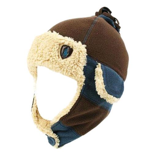 ff42436e Winter Baby Kids Warm Earmuffs Hats Scarf Plush Flight Caps Best Gift-Coffee  on OnBuy