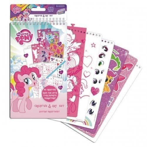 MY LITTLE PONY Creative & Art Set Hours of Colouring and Sticker Fun