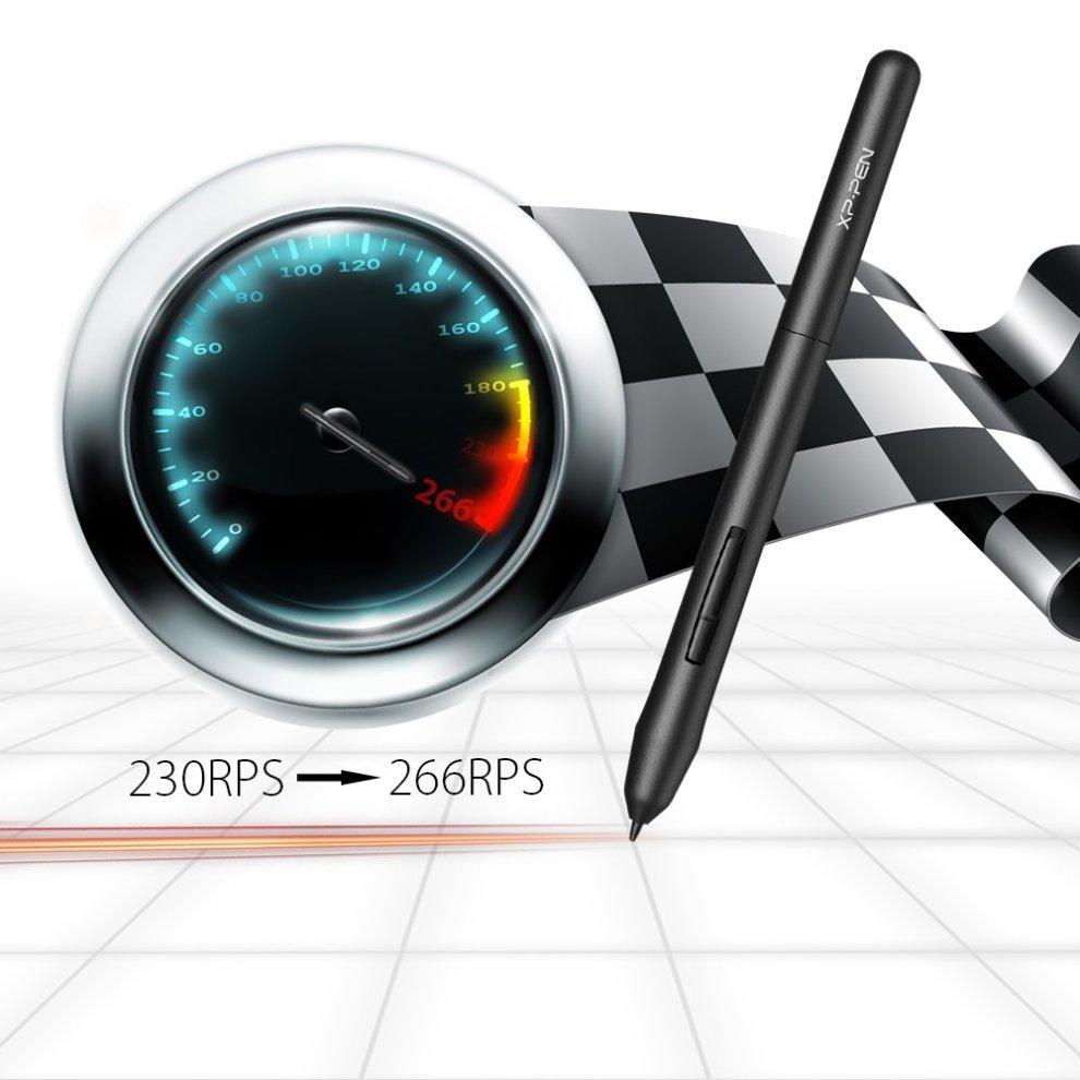 XP-Pen G430S Graphics Tablet 4x3 inch for osu! Art Design Pen Drawing  Tablet Black