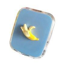 Creative Banana Pattern Contact Lenses Case Nursing Holder, Random Color