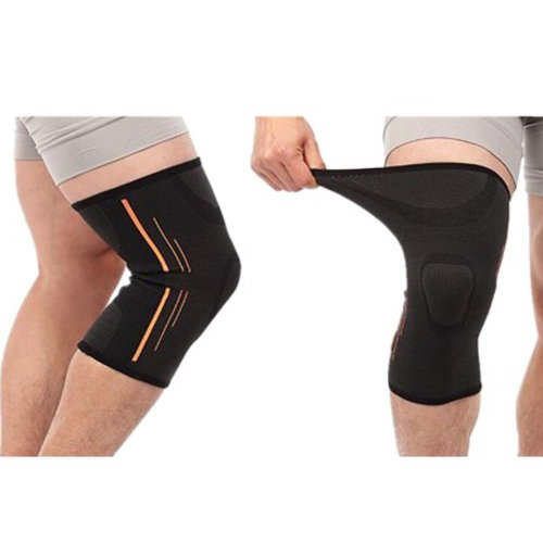 Professional Athletics Knee Compression Sleeve Knee Brace Knee Pads 2-Pack ,#A8