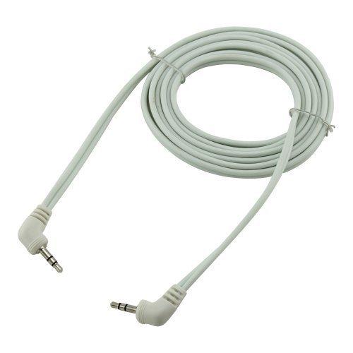 Bullz Audio B35E3WT 3 Feet Soft PVC 3 5 Extension Cable White