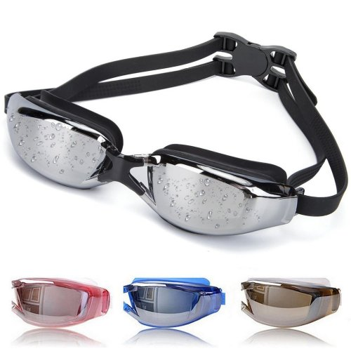 7f1041511a16 OYMI Swimming Goggles Anti Fog No Leaking Swim Glasses with Free Nose Clip    Earplugs for Men Women Youth Kid Child (Black) on OnBuy