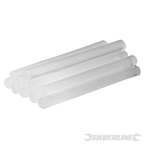 Silverline Glue Sticks Pack Of 10 7.2mm x 100mm