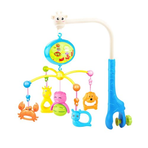 138 Contents in Chinese Musical Soothe Dreams Mobile,Animal Blue