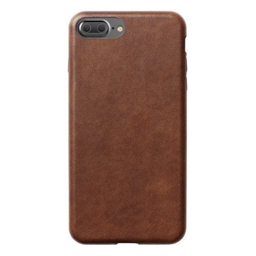 competitive price cb9be 4c0e4 Nomad Horween Leather Case for Apple iPhone 8 Plus/7 Plus - Brown