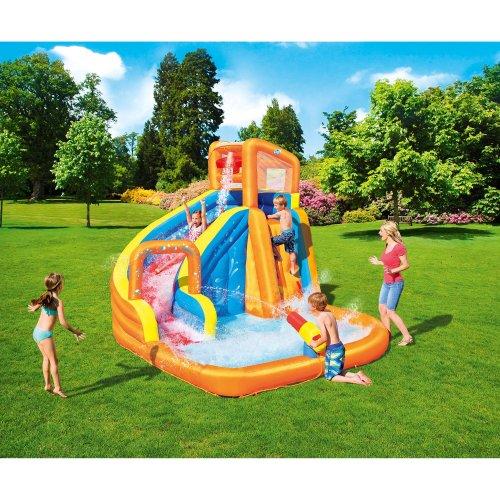Bestway Constant Air Inflatable Turbo Splash Paddling Pool Mega Water Park