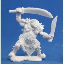 Reaper Bones Orc Stalker (Two weapons)