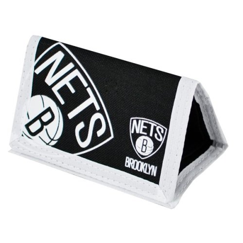 Nba Brooklyn Nets Big Logo Nylon Wallet - Multi-colour - Official Money -  nba nets brooklyn wallet official big logo nylon money basketball gift new