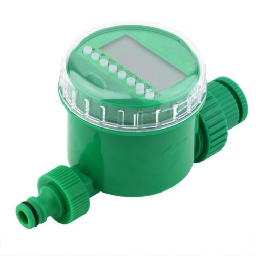 "BNSPLY Automatic Water Timer 3/4"" 19mm Thread Automatic Irrigation Timer with LCD Display 1m - 9h 59m Digital Watering Timer Automatic Irrigate for..."