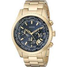 GUESS Gold-Tone Mens Watch U0602G1