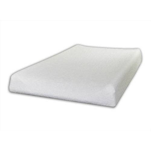 Changing Mat Cover Terry 70x50 cm With Raised Edges - White