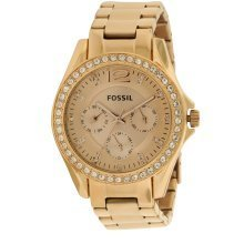 Fossil (Open Box) Riley Multifunction Rose Gold Ladies Watch ES2811