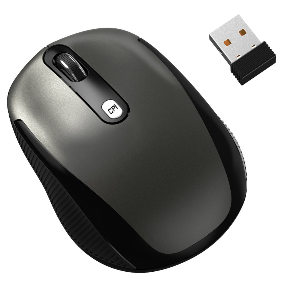 3eaff380da1 ... JETech® M0770 2.4Ghz Wireless Mobile Optical Mouse with 6 Buttons - 1  ...