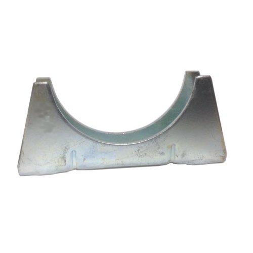 Universal Exhaust pipe cradle 51 mm pipe - Zinc Plated Mild Steel
