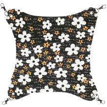 Pet Supplies Cat Beds Cat Hammock Cat Furniture 45 X 45 CM- Flower Black