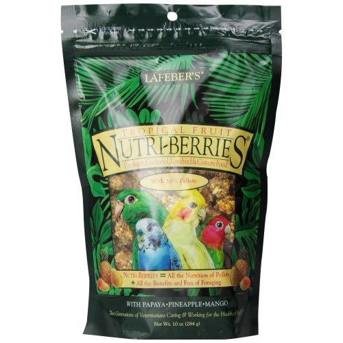 Lafeber Nutri-Berries Tropical Fruit Cockatiel Food 284g