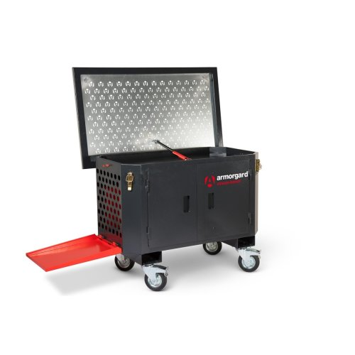Armorgard XtractaBench Mobile Work Bench & Extraction Unit Dust & Fumes 1250x750x895mm
