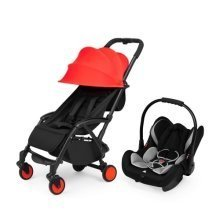 Ickle Bubba Aurora Travel System - Red Sky at Night