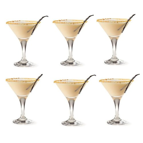 Martini Cocktail Glasses 175ml Set of 6 GLASSWARE PROFESSIONAL USE