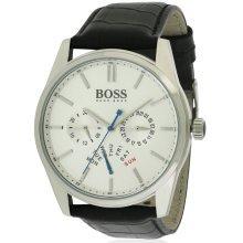Hugo Boss Heritage Leather Mens Watch 1513123