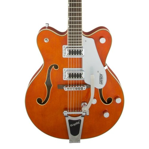Gretsch G5422T 2016 Electromatic HollowBody Guitar, Bigsby, Orange Stain