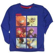 Big Hero 6 Long T Shirt - Navy