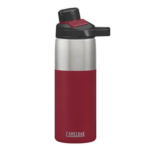 Camelbak 1515601060 Chute Mag Vacuum Insulated Bottle 20 Oz, Cardinal, 20oz