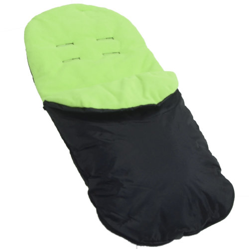 Chicco Footmuff / Cosy Toes Compatible with Urban London Echo Multiway Lite Way Lime