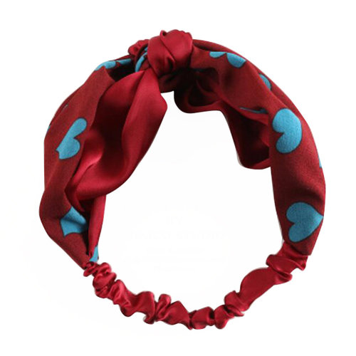 Lovely Girl Hair Accessories Wide Edge Knotted Headband Headscarf #07