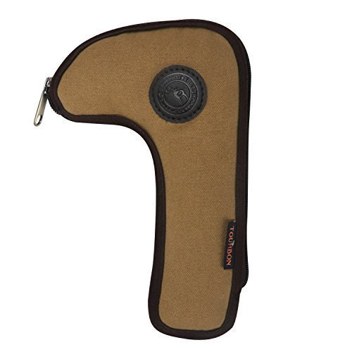 Tourbon Hunting Shooting Heavy Duty Canvas Rifle Bolt Pouch Sheath Holder