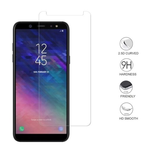 iPro Accessories Galaxy A6 2018 Screen Protector, Galaxy A6 2018 Tempered Glass, [Compatible With Galaxy A6 2018 Case] [Scratch Proof] [Shatter Proof] [9H Hardness]